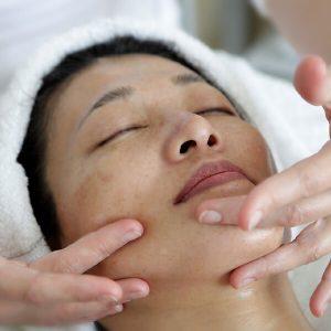 Gelaatsmassage